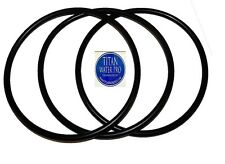 """O-Rings for Big Blue Water Filter Housing Sizes 10"""" and 20"""" X 4.5"""" (3) Pcs TWP"""