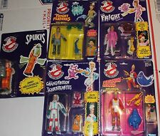 (5) NEW Vintage 1986 Kenner Real Ghostbusters Action Figures Egon Peter Janine
