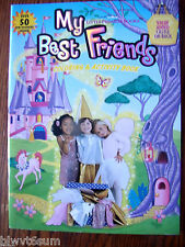 My Best Friends Coloring Book with over 50 Stickers- Great Gift