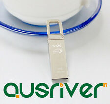 SSK SFD195 64GB USB 3.0 Flash Drive Silver