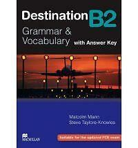 Macmillan DESTINATION B2 GRAMMAR & VOCABULARY Student's Book w Answer Key @NEW@