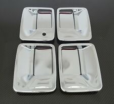 99-15 Ford Super Duty F250+F350+F450 Chrome 4 Door Handle w/o PSG keyhole Cover