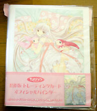 CLAMP Chobits Trading Card Manga Ver. Card Album Binder New 4 Rings