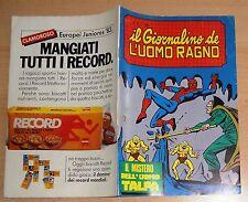 ED.CORNO SERIE  IL GIORNALINO DELL'UOMO RAGNO  N° 31  1981  !!!!! ULTIMO NUMERO