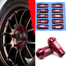 A SET OF 20PCS RED M12X1.5MM JDM WHEEL LUG NUT FOR HONDA ACURA CIVIC INTEGRA