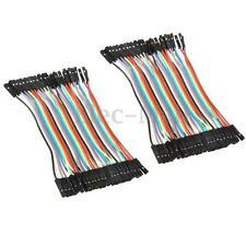 40PCs 10CM Female to Female Breadboard Jumper Cable Wires Line Connector 2.54mm