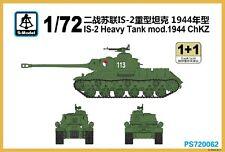 S-model 1/72 PS720062 IS-2 Heavy Tank mod.1944 Chkz (1+1)