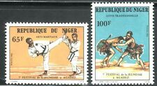 SELLOS DEPORTES ARTES MARCIALES NIGER 1982 572/3 2v.