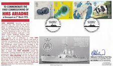 GB :1999 Patients Tale  set on Royal Navy illustrated  FDC-PLYMOUTH -signed