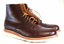 Mens Yuketen Johnson Boots Brown 12E WIDE Worn Once Excellent Preowned Condition