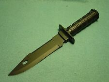 Millitary Issue Fixed Blade Survival Knife- New in Box with Nylon Sheath