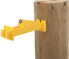 Dare WOODEX 5 WP Wood Post Insulator Extender for Electric Fence, 10 Ct.