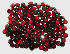 5mm Natural Mozambique Rich Red Garnet Round Cut