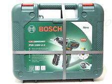 Bosch Akku-Bohrschrauber PSR 10,8 / 1080 LI-2 / 2x Lithium-Ionen-Akkus - Syneon