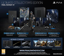Final Fantasy XV Ultimate Collector's Edition PS4 + Postcards