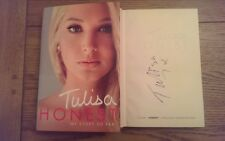 Honest My Story So Far EXCLUSIVE SIGNED EDITION Tulisa Autobiography Book 1st