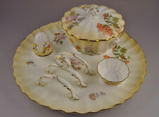 Royal Doulton Burslem Art Nouveau Breakfast Set ca.1896-1902 Beautiful Rare Set!