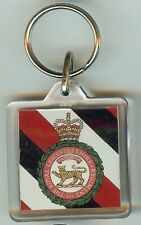 Acrylic Military Key Ring Royal Leicestershire Regiment