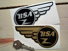 "BSA Flash Style Motorcycle STICKERS 5"" Pair A10 A65 B44 C15 B25 A50 A7SS Bike"