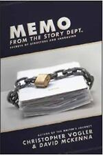 Memo from the Story Department: Secrets of Structure and Character by Vogler, C