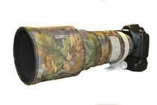 Canon 300mm f2.8 IS neoprene lens protection coat cover English Oak Camo