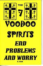 7 VOODOO SPIRTS END PROBLEMS & WORRY book by S. Rob occult magick