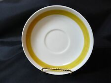 Rorstrand Sweden Tuva Saucer Mid-Century Modern Carl Harry Stalhane Hand Painted