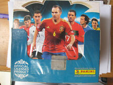 NEW PANINI Adrenalyn XL Euro 2012 Card box 50 Packs Poland Ukraine