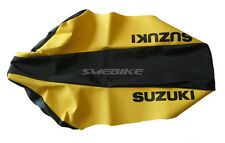 SUZUKI DRZ250 DRZ400 DRZ110 DRZ125 GRIPPER AND VINYL SEAT COVERS