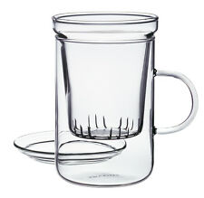 RANDWYCK Glass Tea Filter CUP With Infuser 300ml