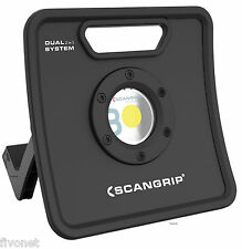 Scangrip NOVA 3K C+R Batteria COB LED Lampada Faretto Calice outdoor