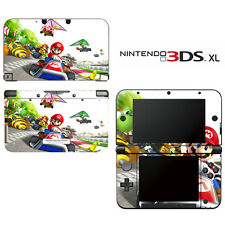Vinyl Skin Decal Cover for Nintendo 3DS XL LL - Super Mario Kart