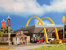 HO scale Vollmer McDonald's Restaurant with McCafe : Model Building KIT