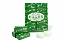 40 WRAPPED ABSINTHE SUGAR CUBES, PACKAGED (20 PACKETS) - FREE SHIPPING !!!