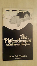 1970  MAY FAIR THEATRE: GEORGE COLE - ANDREW NEIL in THE PHILANTHROPIST