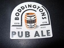 BODDINGTONS PUB ALE Manchester England STICKER decal craft beer brewing brewery