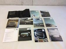 09-15 BMW 7 SERIES E65 OWNER'S MANUAL INFORMATION GUIDE BOOK CASE ATLAS M
