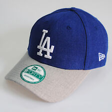New Era LA Dodgers Heather Team 9Forty Curve Peak Baseball Cap Hat
