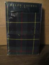Ralph Lauren Tartan Green standard pillowcases