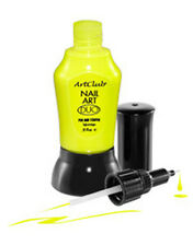 Color Club DUO ArtCluB Liner Neon Yellow 05PNN06 USA NAIL ART