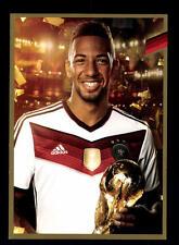 Jerome Boateng Autogrammkarte DFB limitierter Edition Weltmeister 2014