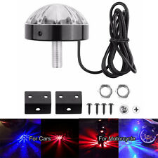 Auto Moto Underpan Coda LED Light Anti-Collision Warning Atmosfera Lamp Red Blue