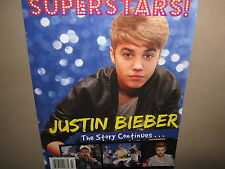 NEW! Superstars! JUSTIN BIEBER The Story Continues... 2012 112Pgs Tons of Photos