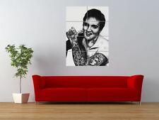 Wm Elvis Presley única Tattoo Icon Inked Gigante impresión arte cartel del panel nor0573