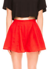 The Fifth Red Sun & Moon Soft Full High Waist Skirt Shorts 8 10 12 14 16