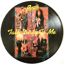 "POISON ‎- Talk Dirty To Me (12"") (Picture Disc) (VG/NM)"