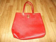 Michael Kors red leather tote bag, BNWT.