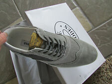 NEW STEVE MADDEN DISTIL OXFORD SHOES MENS 8 GRAY DRESSY CASUAL FREE SHIP