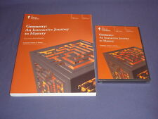 Teaching Co Great Courses DVDs   GEOMETRY INTERACTIVE JOURNEY TO MASTERY     new