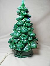 Vintage Christmas Tree Ceramic Light up
